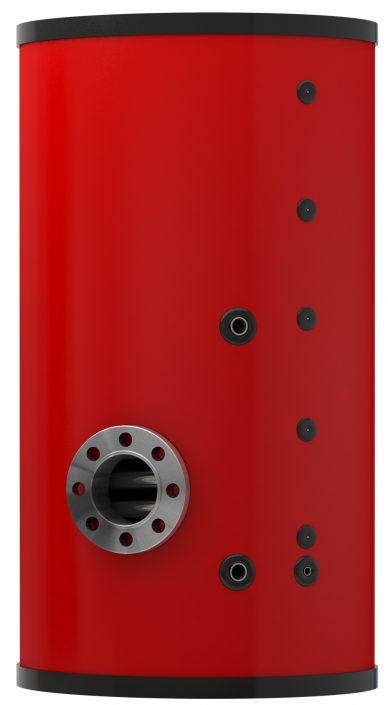 Red Calorifier Stainless