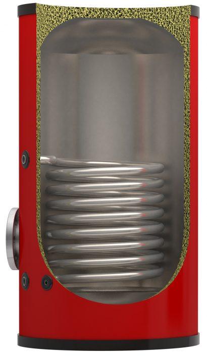 Red Calorifier Stainless Cut away